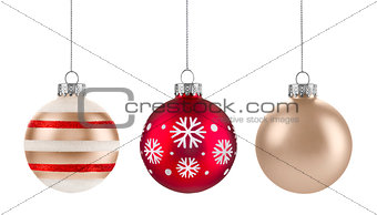 Christmas baubles Group