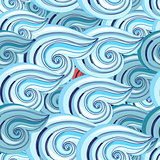 graphic pattern of waves