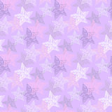 Seamless vector stars pattern