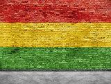 Flag of reggae music