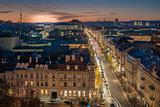 Vilnius, Lithuania: representative Gediminas street