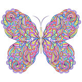 colorful abstract butterfly
