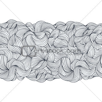 abstract seamless pattern on white background