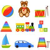 Icon Set Toys