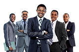 Confident African American Business Team