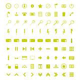 A set of universal WEB icons.