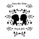 Save the Date Vintage Design
