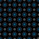 Seamless dark christmas pattern