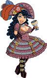 Sexy Steampunk Pirate Girl