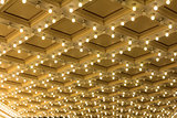 Marquee Lights on Broadway Theater Ceiling