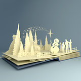 Pop-Up Book - Christmas Story