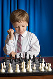 the boy chess player