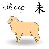 Eastern Zodiac Sign Sheep