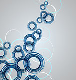 Vector Abstract Circles
