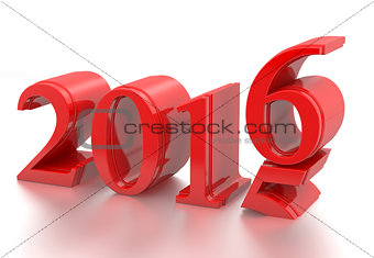 2015-2016 change represents the new year 2016