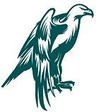 Eagle stylized symbol