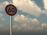 speed limit sixty