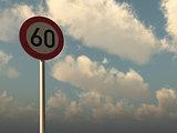 speed limit sixty