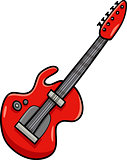 electric guitar cartoon clip art