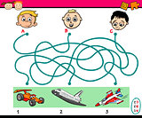 find path task for kids