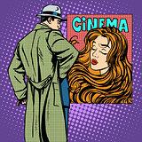 Man woman poster movie cinema