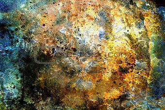 abstract color Backgrounds, collage with spots. rust structure and crackle