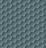 Dark seamless hexagon pattern background