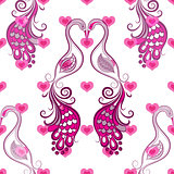 Repeating valentine pattern