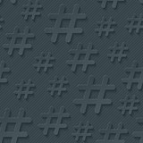 Hash tag seamless background