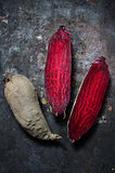 Raw beet for roasting