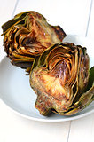artichokes with balsamic vinegrette