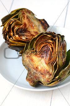 artichokes with balsamic vinegrette