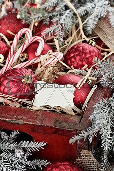 Blank Christmas Tag