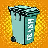 Trash ecology recycling tank