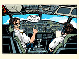 Aircraft cockpit pilots airplane captain