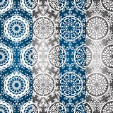 Vector Seamless Winter Patterns