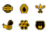 honey yellow icons