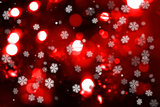 Decorative Christmas snowflake background