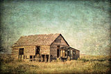 old homestead on Colorado prairie