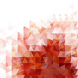 Abstract red light template background
