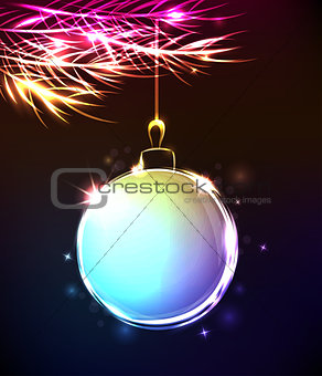 Abstract Christmas decoration