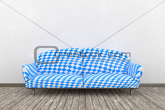 Bavarian colors sofa