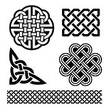 Celtic knots, braids and patterns - St Patrick's Day in Ireland