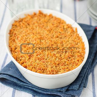Bread and Cheese Crumble