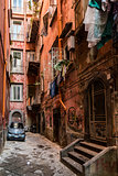 Naples narrow street