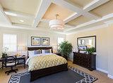Interior of A Beautiful Master Bedroom
