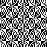 Seamless geometric checked texture.