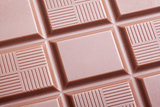Closeup of milk chocolate bar