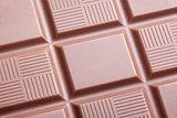 Closeup of milk chocolate bar