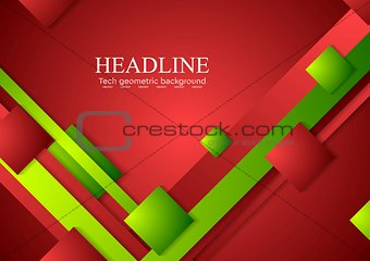 Abstract tech bright corporate background